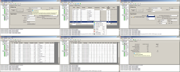 HSDBASE - Database software for SIEMENS S7-300/400/1200/1500 PLCs